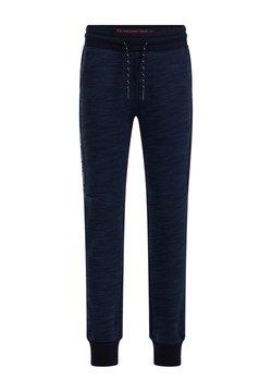 WE Fashion - MET TAPEDETAIL - Verryttelyhousut - blue