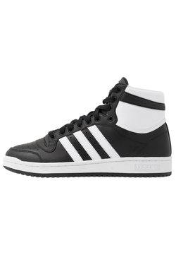 adidas Originals - TOP TEN - Korkeavartiset tennarit - core black/footwear white/core white