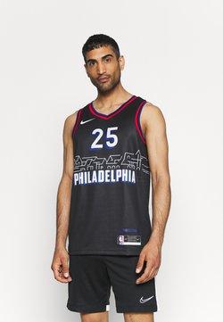 Nike Performance - NBA PHILADELPHIA 76ERS BEN SIMMONS CITY EDITION SWINGMAN - Klubbkläder - black