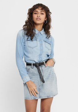 ONLY - Koszula - light blue denim
