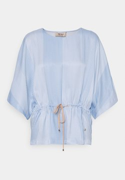 Mos Mosh - RIKAS ISLAND BLOUSE - Tunic - bel air blue