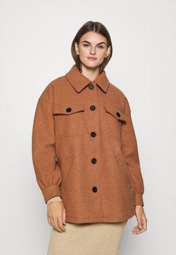 ONLY - ONLLIVA SHACKET - Płaszcz wełniany /Płaszcz klasyczny - camel