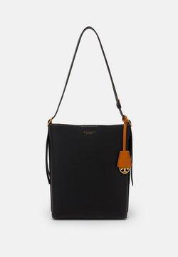 Tory Burch - PERRY BUCKET BAG - Handtasche - black
