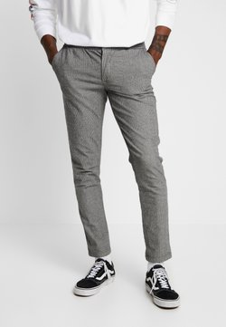 Redefined Rebel - KING PANTS - Stoffhose - grey check