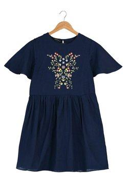Trendyol - PARENT - Jerseykleid - navy blue