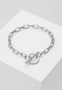 Olivia Burton - BEJEWELLED T-BAR BRACELET - Bracelet - silver-coloured
