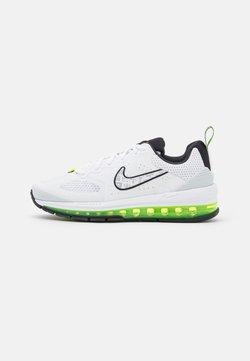 Nike Sportswear - AIR MAX GENOME - Matalavartiset tennarit - white/volt/pure platinum/black