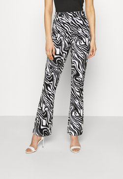 Juicy Couture - JOYPRINTED TROUSERS - Stoffhose - mono wave