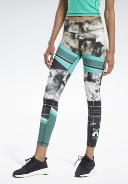 Reebok - MYT ENGINEERED LEGGINGS - Tights - green