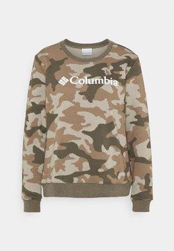 Columbia - LOGO™ PRINTED CREW - Sweatshirt - stone green