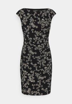 Lauren Ralph Lauren Petite - NOVELLINA DAY DRESS - Etuikleid - black/colonial cream
