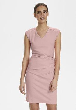 Kaffe - INDIA V NECK DRESS - Shift dress - Candy Pink