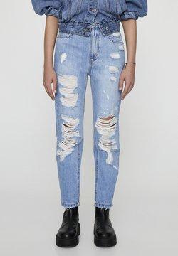 PULL&BEAR - Slim fit jeans - light-blue denim