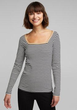 edc by Esprit - STRIPE - Longsleeve - black