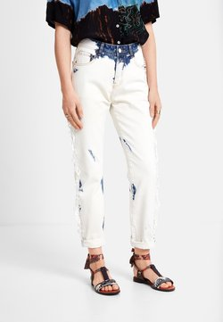 Desigual - BLEACH LONG - Jeans a sigaretta - blue
