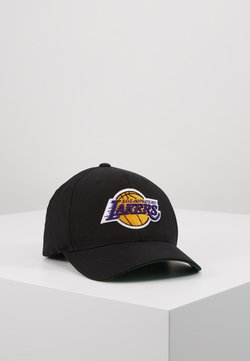 Mitchell & Ness - NBA LA LAKERS TEAM LOGO HIGH CROWN  PANEL SNAPBACK - Cap - black