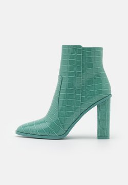 RAID - CINDY  - High heeled ankle boots - turquoise