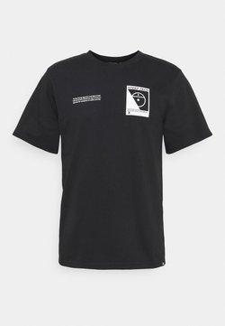 The North Face - STEEP TECH LOGO TEE UNISEX  - Print T-shirt - black