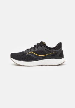 Saucony - HURRICANE 23 - Zapatillas de running estables - black/gold