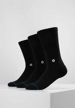 Stance - ICON 3 PACK - Chaussettes - black