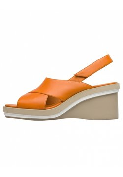 Camper - KYRA - Wedge sandals - orange