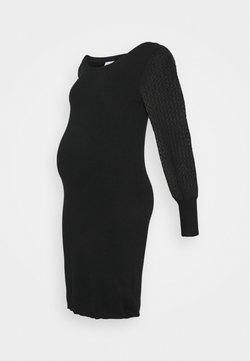 MAMALICIOUS - MLMADIA MIX DRESS - Jerseykleid - black