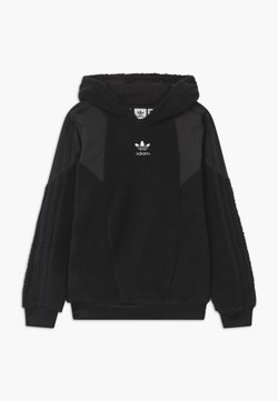 adidas Originals - TEDDY HOODIE UNISEX - Sweat polaire - black