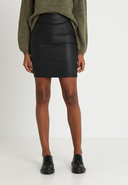 Pieces - PCPARO SKIRT - Bleistiftrock - black