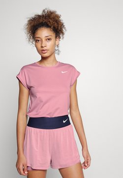 Nike Performance - T-Shirt basic - elemental pink/white