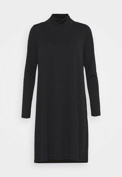 Object Tall - OBJANNIE HIGHNECK DRESS TALL - Jerseyjurk - black