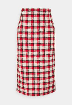 N°21 - SKIRT - A-Linien-Rock - rosso