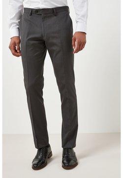 Next - SUIT TROUSERS - Anzughose - mottled dark grey