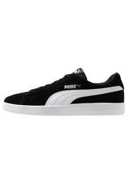 Puma - SMASH V2 UNISEX - Sneaker low - black/white/silver