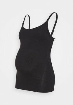 Marks & Spencer London - NURSING VEST - Unterhemd/-shirt - black