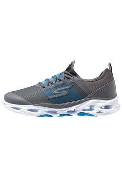 Skechers Performance - GO RUN VORTEX-STORM - Laufschuh Neutral - charcoal/blue