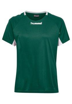 Hummel - CORE TEAM  - T-shirt print - evergreen