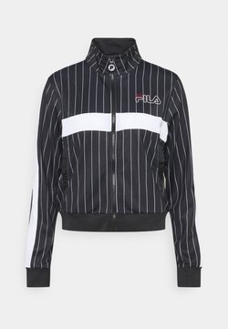 Fila - JAIMI PINSTRIPE TRACK JACKET - Trainingsjacke - black/bright white