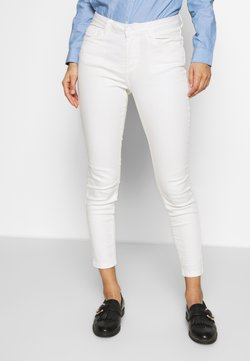Springfield - SARGA COLOR - Slim fit jeans - white