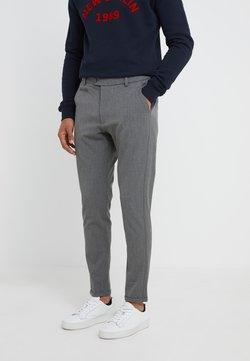 Les Deux - SUIT PANTS COMO - Stoffhose - grey melange