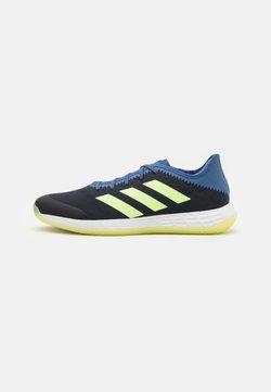 adidas Performance - ADIZERO FASTCOURT PRIMEBLUE - Käsipallokengät - legend ink/hi-res yellow/blue