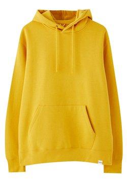 PULL&BEAR - Kapuzenpullover - yellow