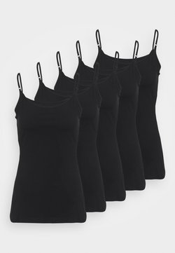 Anna Field - 5 PACK - Toppe - black
