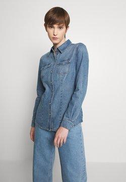 ONLY - ONLROCK IT LIFE - Camisa - medium blue denim