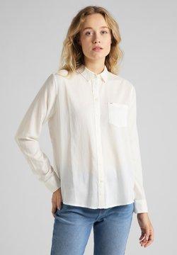 Lee - ONE POCKET - Skjorta - white canvas