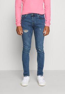 Only & Sons - ONSLOOM DAMAGE - Slim fit jeans - blue denim