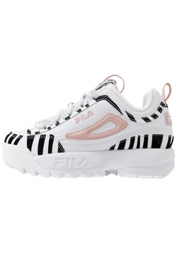 Fila - DISRUPTOR - Baskets basses - white/sepia rose