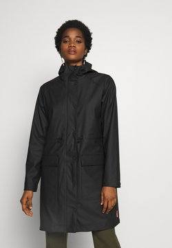 Hunter ORIGINAL - WOMENS ORIGINAL LIGHTWEIGHT - Parka - black