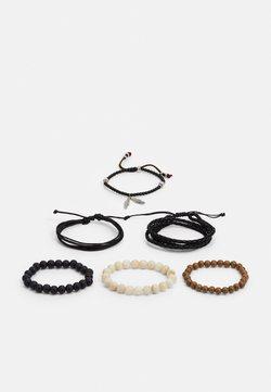 ALDO - DOAKTOWN 6 PACK - Bracelet - black