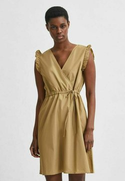 Selected Femme - Sukienka letnia - kelp