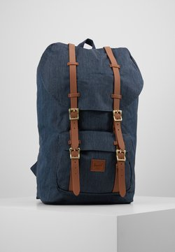 Herschel - LITTLE AMERICA - Reppu - indigo denim